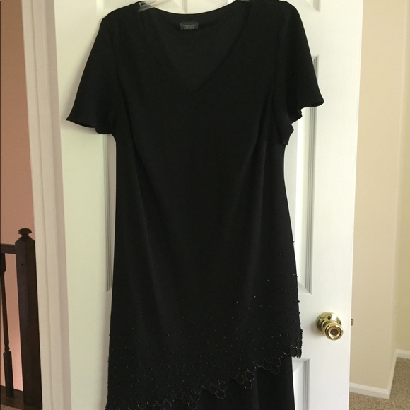 Dress Barn Dresses & Skirts - Women's Black Cocktail Dress